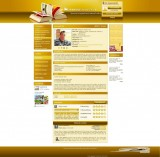 Math teachers webdesign (12 color variants))