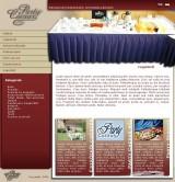 Party Caesar webdesign