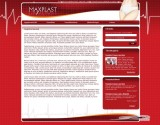 Maxplast website development