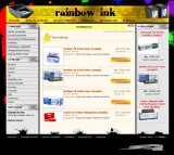 RainbowInk website development