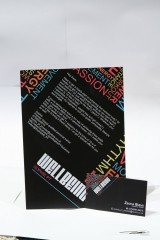 WellBeing leaflet and business card